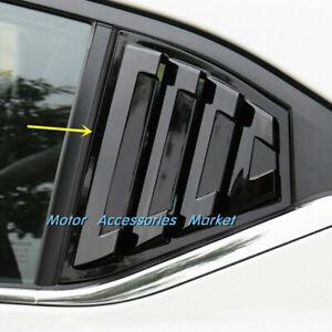 New Gloss Black Window Louvers For Nissan Sentra 2020 2021