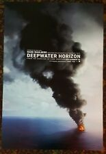DEEP WATER HORIZON Movie Poster 27x40 2-Sided Authentic Teaser Mark Wahlberg