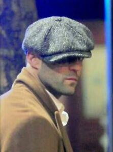 Baker Boy Hat Cap Peaky Blinders Newsboy Herringbone Flat Cap