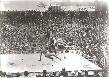 JACK JOHNSON vs STANLEY KETCHEL PHOTO BOXING PICTURE