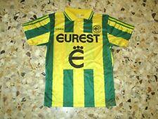 Maillot shirt jersey trikot ancien FC NANTES  1994-1995 EUREST ADIDAS