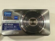 Sony Cyber-shot DSC-W570 16.1MP Digital Camera - Silver