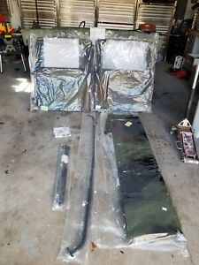 Military HMMWV HUMVEE TWO Man Crew Camo Soft Top Kit 53953 NSN 2540-01-434-8600