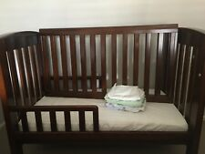 baby cot and change table. brand Bertini, solid wood construction
