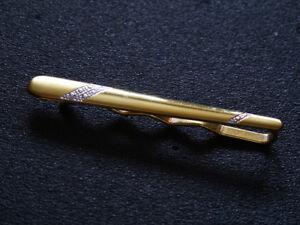 Gelbgold Krawattennadel 585 / NEU