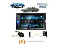 FORD CROWN VICTORIA 1998-2002 DOUBLE DIN CAR STEREO KIT, TOUCHSCREEN
