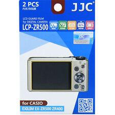 JJC lcp-zr500 Polycarbonat LCD Folie Displayschutzfolie f Casio exzr500 exzr400