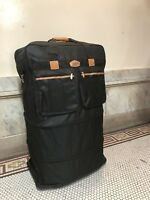 """xxxl 40"""" Rolling Wheeled Duffel Bag Spinner Luggage Color: Black Material: 600D"""
