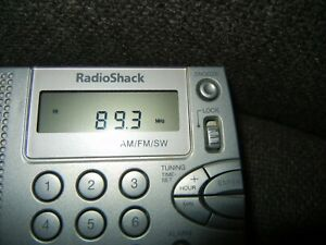 "Radio Shack 20-125 AM/FM/Shortwave Travel Radio-excellent ""Ghost Box"" capable."
