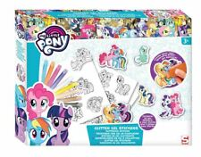 My Little Pony Craft Set Colour Your Own Glitter Gel Stickers Children's Art Kit