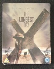 THE LONGEST DAY Blu-Ray Steelbook. Region Free. War Normandy D-Day. New & Rare!