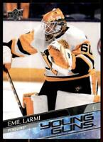 2020-21 UD Series 1 Base Young Guns #236 Emil Larmi RC - Pittsburgh Penguins