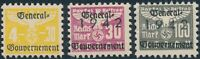 Stamp Germany Revenue Poland WWII 1940 War Era Party Selection GG MNG