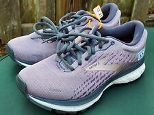Brooks Womens Ghost 13 sz 5.5 B 1203381B550 Purple Running Shoes Lace Up Low Top