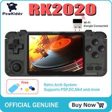 POWKIDDY RK2020 Retro  Handheld Console Games Handheld PS1 N64 NES GBA GBC SNES