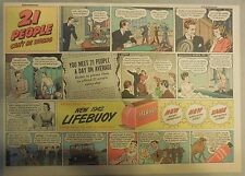 LifeBuoy Soap Ad: 21 People Can't Be Wrong ! Wartime Ad from 1940's