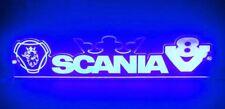 Blue LED Interior Cabin Light Sign for Scania Trucks V8 & Griffin (500 mm, 24V)