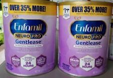 Enfamil NeuroPro Gentlease Infant Formula, Powder can 27.4 oz - 2 Packs