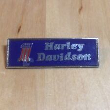 Vintage Old HARLEY DAVIDSON Number 1 Motorcycle Bike Badge
