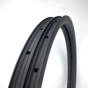 SALE Gravel 30mm width 50mm Depth 700C Carbon Fiber Bicycle Rim CLINCHER 1PAIR