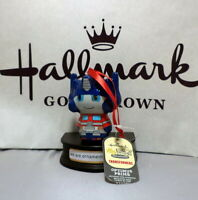 Hallmark Optimus Prime - Itty Bitty Bubble Type Christmas Tree Ornament New