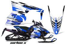 AMR Racing Yamaha Viper Graphic Kit Snowmobile Sled Wrap Decal 14-16 CARBON X U
