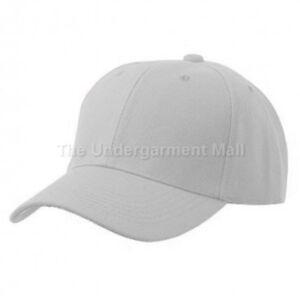 Baseball Cap Plain Kids Boys Strapback Solid Hats Polo Style Hook-N-Loop New