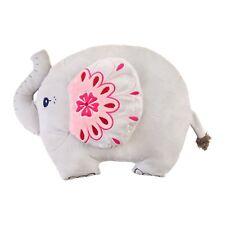 Sass & Belle Soft Mandala Elephant Shaped Cushion Decorative Pillow Children