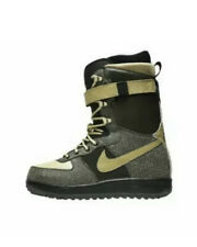 Nike SB ZOOM Force 1 ZF1 Snowboard Gold Black Boots Size 8.5