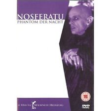 NOSFERATU THE VAMPYRE DVD Klaus Kinski Isabelle Adjani Original UK Rele New R2