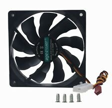 Ultra Quiet 12V 120mm 120x120x25mm 12cm DC Cooling Fan For PC CPU Case Heatsink
