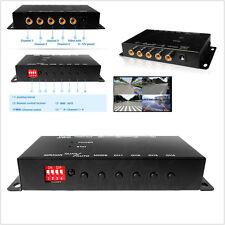 IR Wireless 4-Way Autos 360° Monitoring View Video Camera Image Split-Screen Box