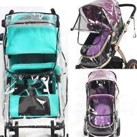 Universal Baby Stroller Waterproof Rain Cover Wind Dust Shield Carrier Rai FLI