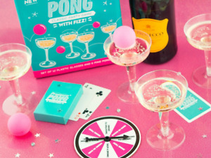 Prosecco Drinking Game Adult Fun Game Activity Drunk Alcohol Party Pong Xmas