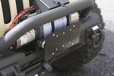 Jeep Wrangler CJ TJ JK Hawse Fairlead License Plate Holder 11238.07 Rugged Ridge