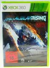 Metal Gear Rising Revengeance Microsoft X-Box 360 X360 NEU SEALED