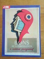 Réf 22 reproduction affiche propagande WW2 BONS DE LA LIBERATION
