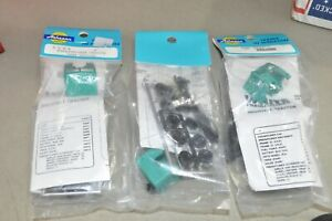 HO scale Athearn Penn Central RR Freightliner truck tractor kit lot set of 3