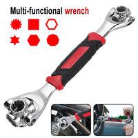 48 in1 Ultimate Wrench Repair Tool Universal Socket Tiger Tools Dog Bone Metric