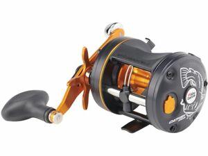 Pure Fishing C3-6500CATSPC-GRAY C3 6500 Catfish Special Baitcast Round Reel