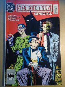 SECRET ORIGINS SPECIAL #1 Neil Gaiman Batman DC Comics NM 1989