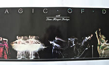 Signed 1982 The Magic of Dance-Dame Margot Fonteyn Poster Photo Leonard Kamsler