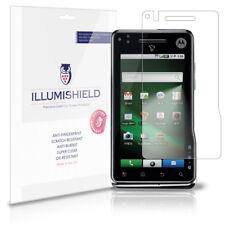 iLLumiShield Anti-Bubble/Print Screen Protector 3x for Motorola Milestone XT720