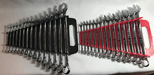 TEKTON Combination Wrench Set 30 Wrenches in & mm