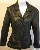 WILSONS MAXIMA Women's Leather Jacket Size M
