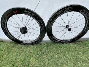 Zipp Firecrest 808 Carbon Tubeless Wheel Set