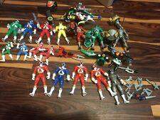 Power Rangers Lightspeed Rescue Action Figure Lot