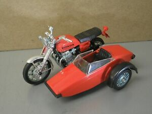 Vintage HONDA CB750 4 Sidecar Outfit Motorcycle 1:24th scale RARE Original Bike