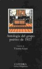 Antologia Del Grupo Poetico Del 1927 by Varios