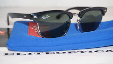 New Authentic RAY BAN JR Clubmaster RJ9050S 100/71 Black/Silver Childrens